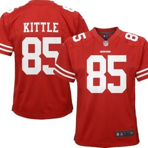 49ers 85 George Kittle Jersey